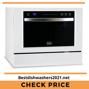 Black+Decker Best Compact Dishwashers 2021