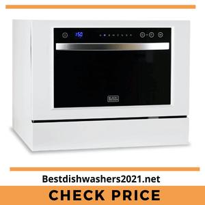 BLACK DECKER BCD6W Countertop Dishwasher