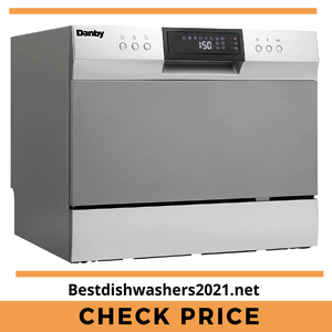 Danby DDW631SDB Countertop Dishwasher, Stainless