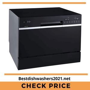 EdgeStar Portable Countertop Dishwasher 2021 - Black