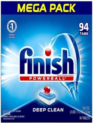 Finish All in 1, Dishwasher Detergent (1)