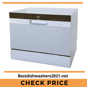 SPT SD-2224DS Compact Countertop Best Dishwashers 2021